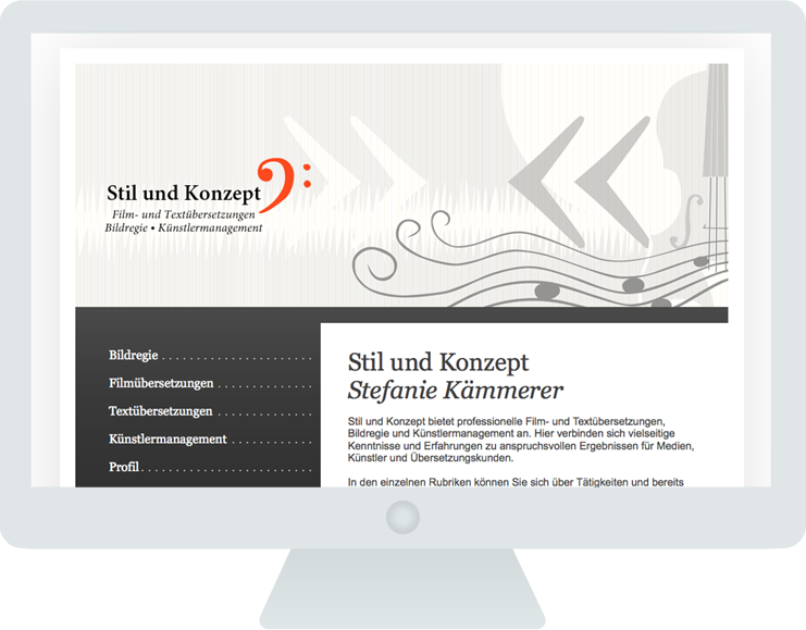 Screen Stil & Konzept 1